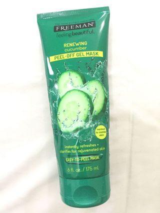 Freeman renewing cucumber peel off mask