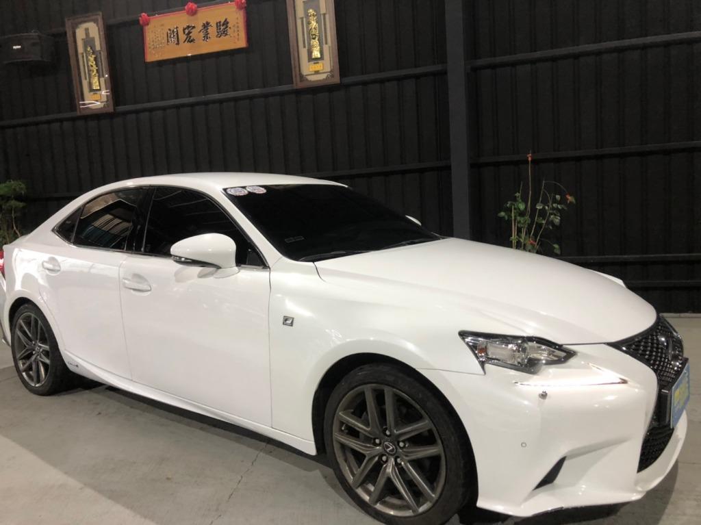 2013年Lexus IS300h F SPORT