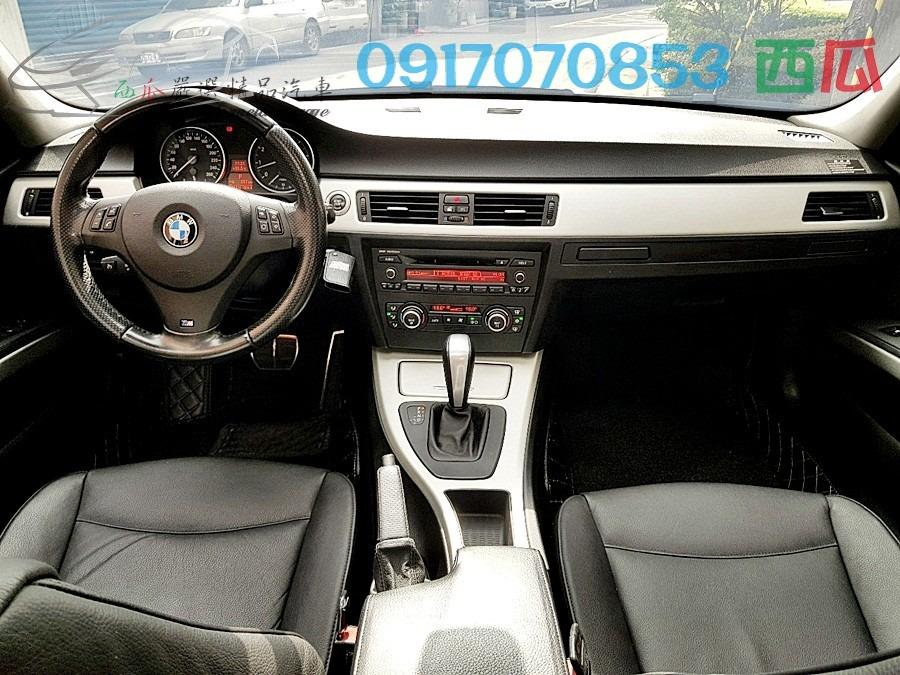 一手車 已認證 僅跑13萬 2008年 BMW E90 325 內外新 車況優 包你滿意 有工作即可全貸 超強貸款!
