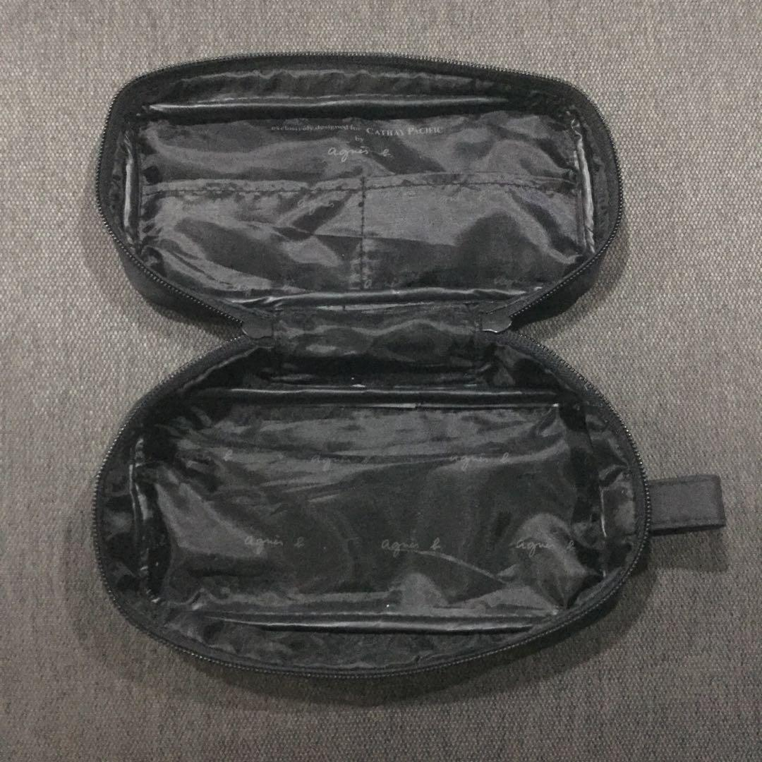 Agnes B amenity kit pouch for CATHAY PACIFIC