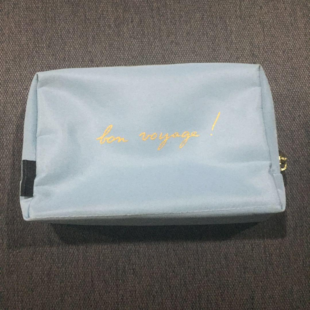 Agnes B for CATHAY PACIFIC amenity kit pouch