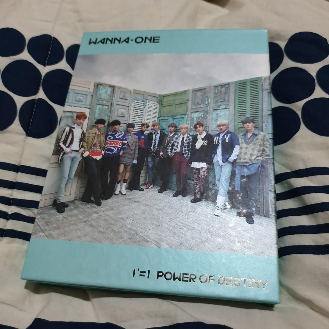 ALBUM KOREA 100% ORIGINAL :  WANNA ONE - POWER OF DESTINY ( ROMANCE VER )