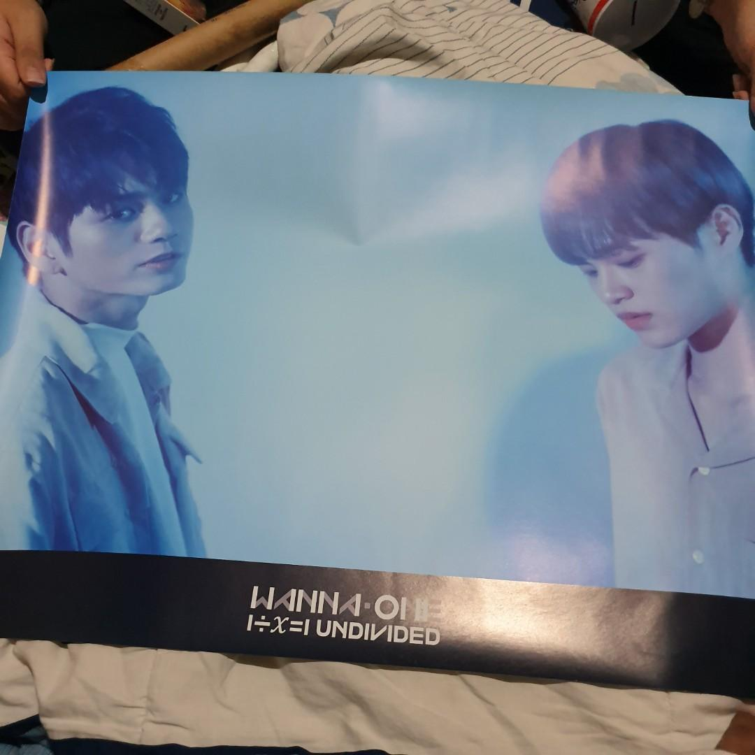 ALBUM KOREA 100% ORIGINAL :  WANNA ONE - UNDIVIDED ( THE HEAL VER )