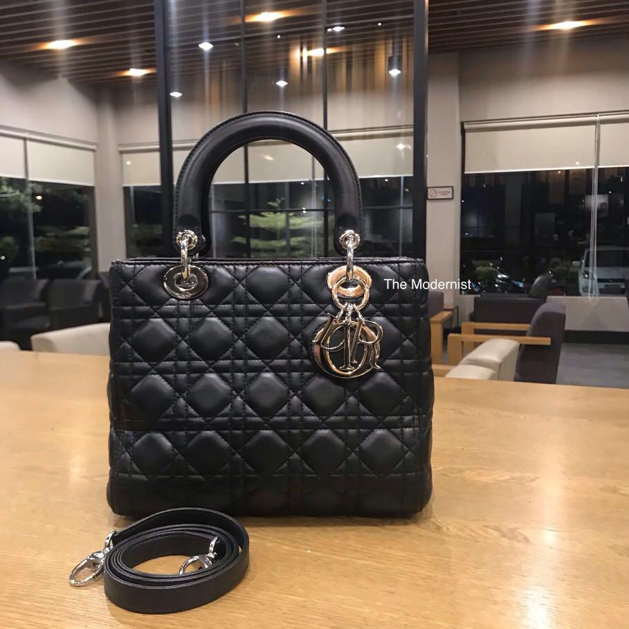 Reduced RM800! Authentic Pre-loved Christian Dior Classic Medium Lady Dior