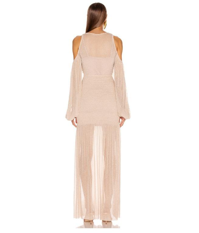 BNWT ALICE MCCALL NUDE SPELL GOWN - SIZE 6 AU/2 US (RRP $495)