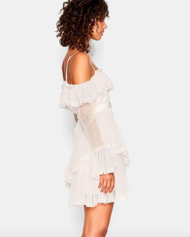 BNWT ALICE MCCALL PORCELAIN GIRL CRUSH DRESS - SIZE 12 AU/8 US (RRP $360)