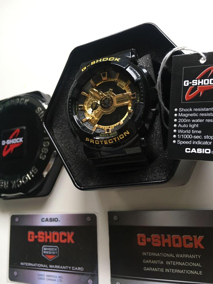 BRAND NEW Casio G-Shock Black/Gold Edition Watch *WITH ORIGINAL CONTENT*
