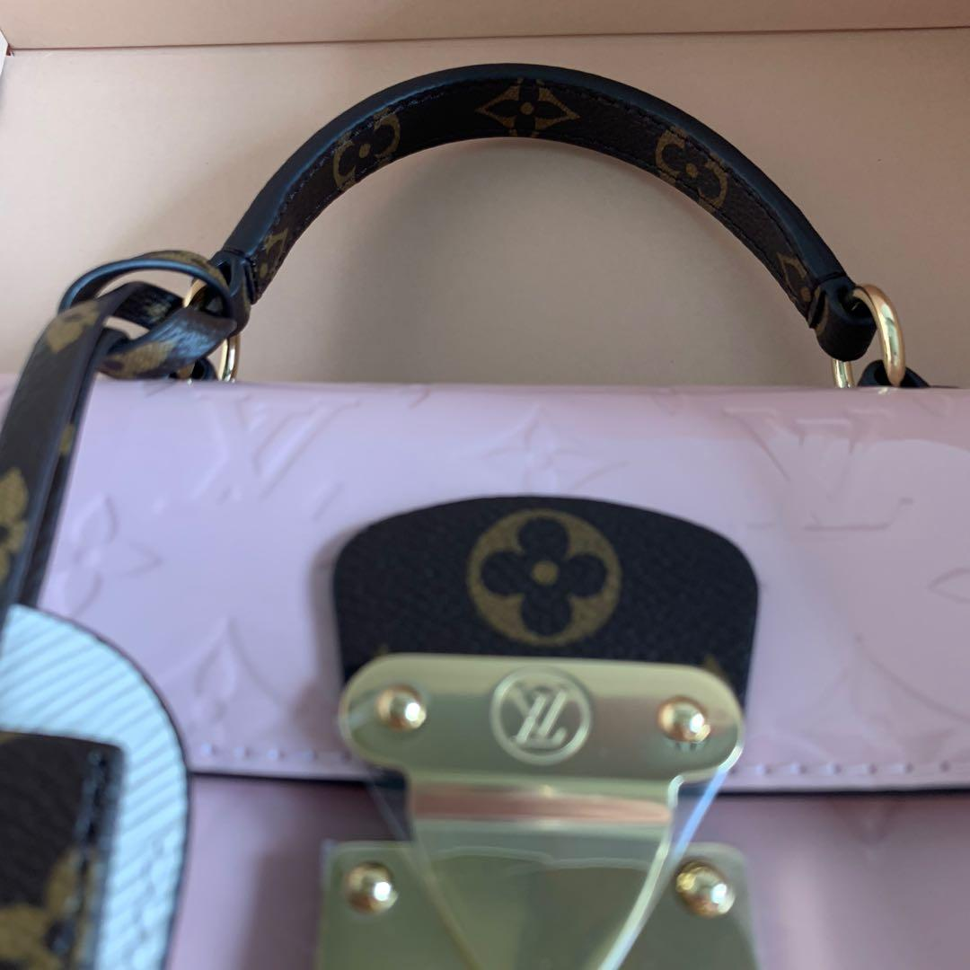 Brand New Full Set Louis Vuitton LV Spring Street Handbag with top handle and removable strap