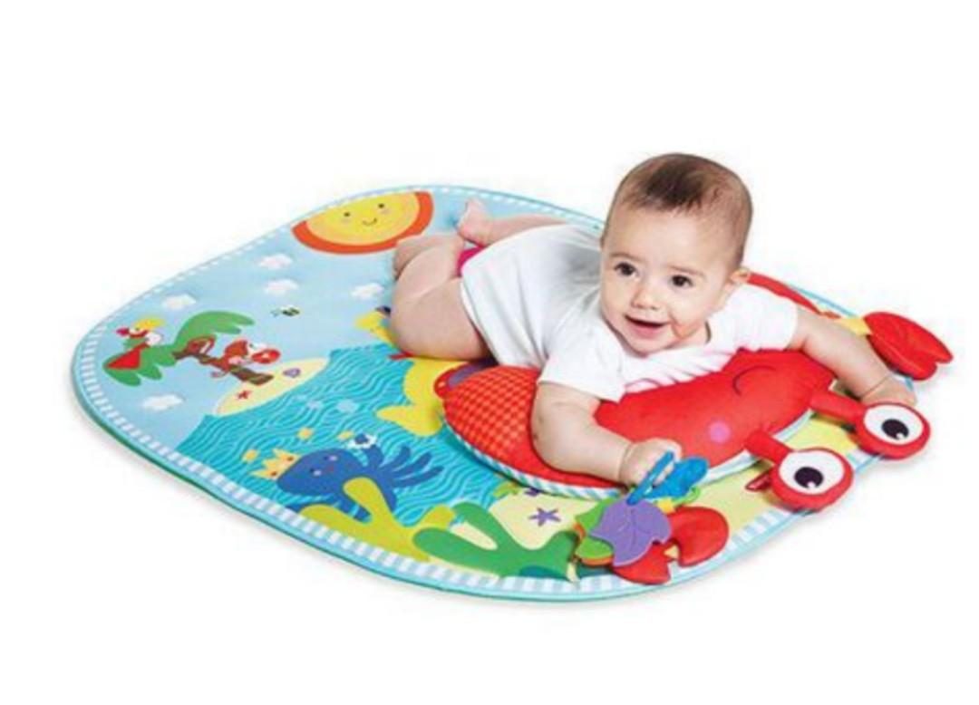 Brand New Tiny Love Tummy-Time Fun Under the Sea Play Mat