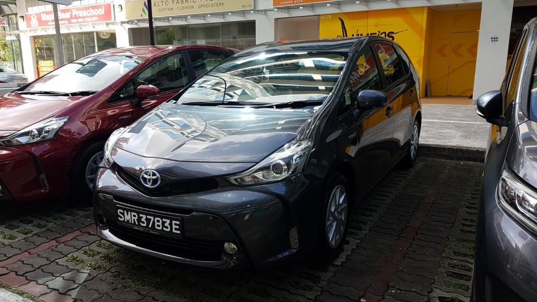 NEW Toyota Prius Plus 50% petrol discount / 18 days Free Rental