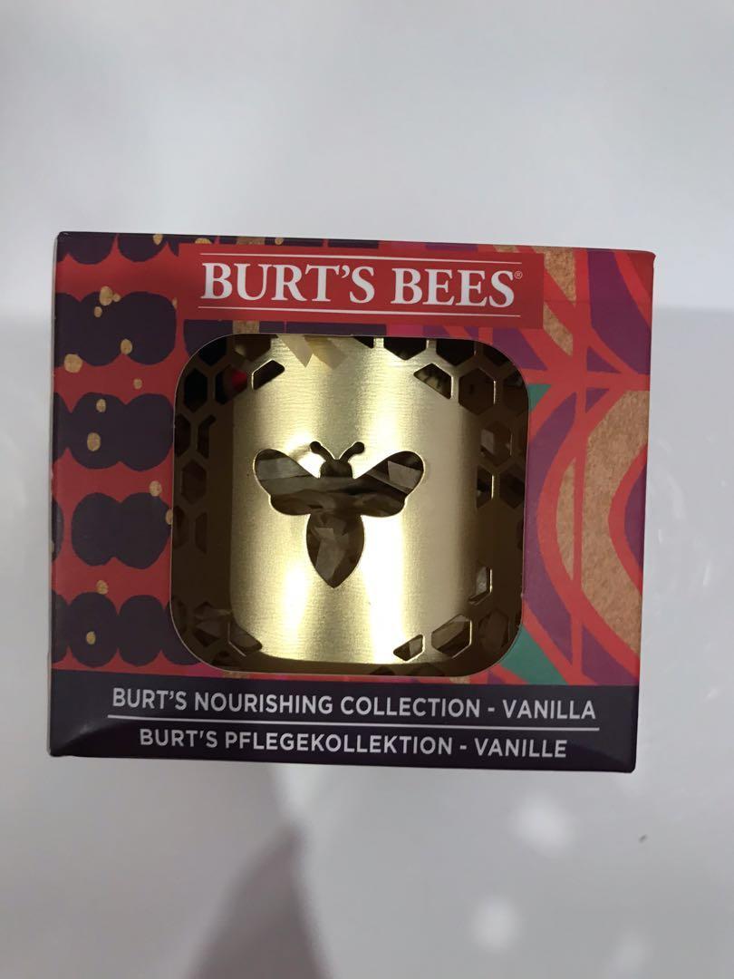 Burt's Bees Lip Balm and Cuticle Cream Collection (Vanilla and Lemon)