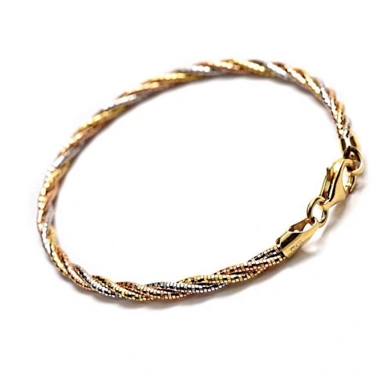 Mix Gold Colours 925 Silver Plated