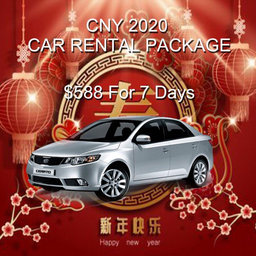 Car Rental for CNY 2020