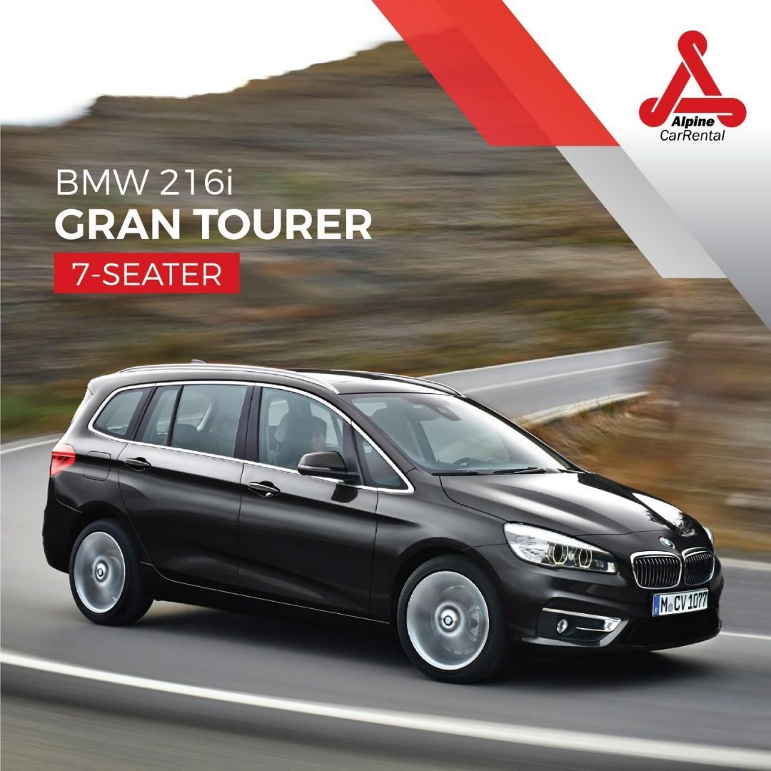 (CHARLES) BMW 216i Gran Tourer Petrol 7 Seater