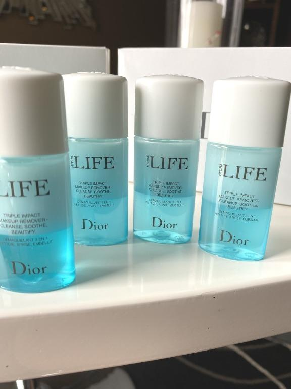 DIOR Hydra Life Triple Impact Makeup Remover x 13. New. $5 each.