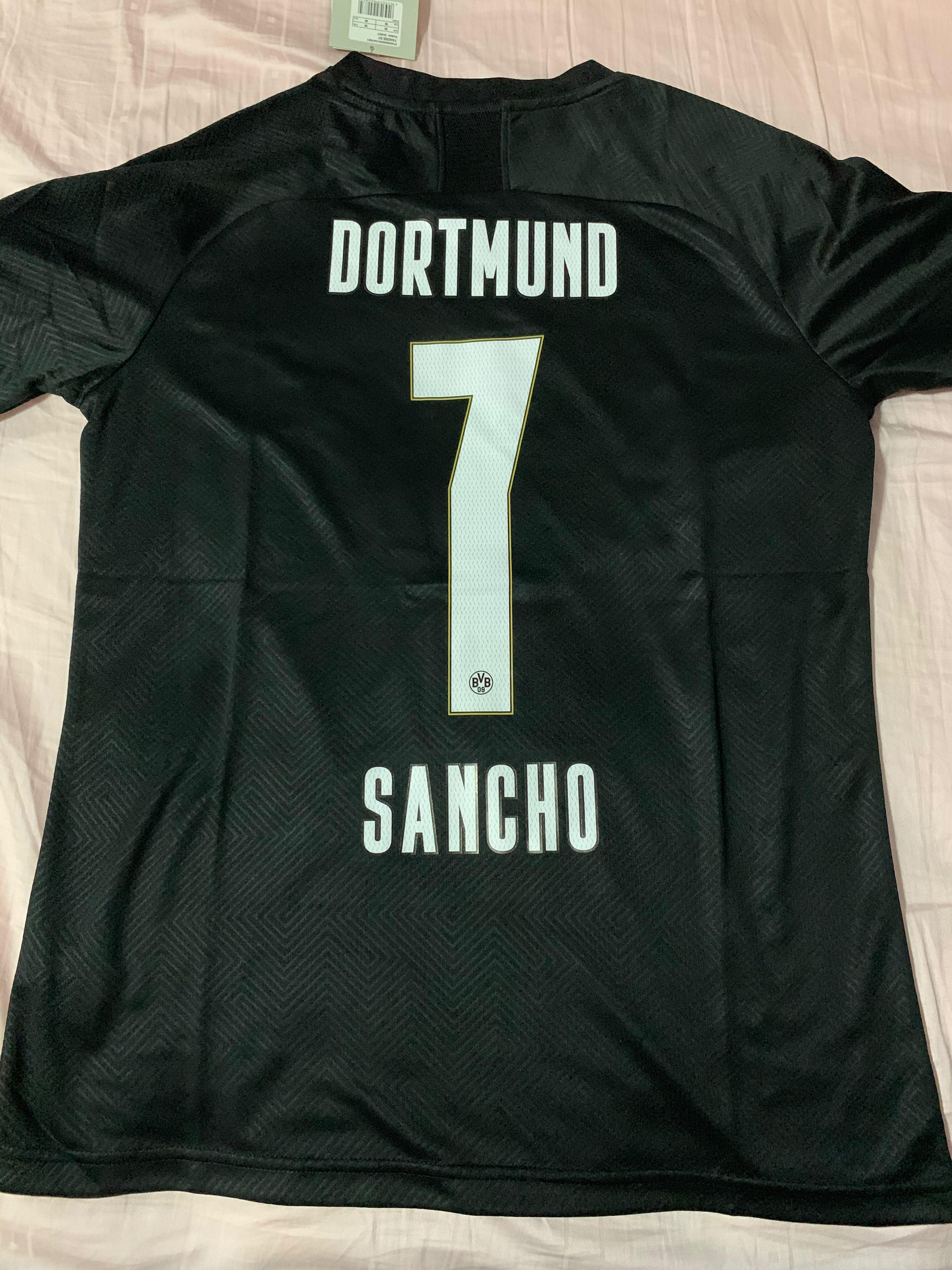 Dortmund All Black Special Kit Men S Fashion Clothes Tops On Carousell