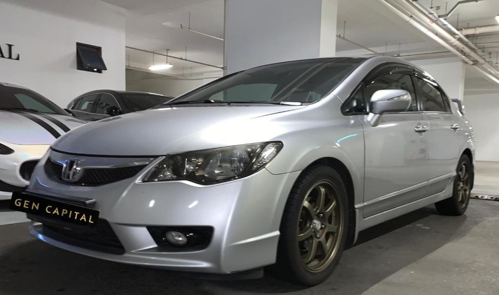 Honda Civic @ Grab Gojek Ryde Tada & Personal use!