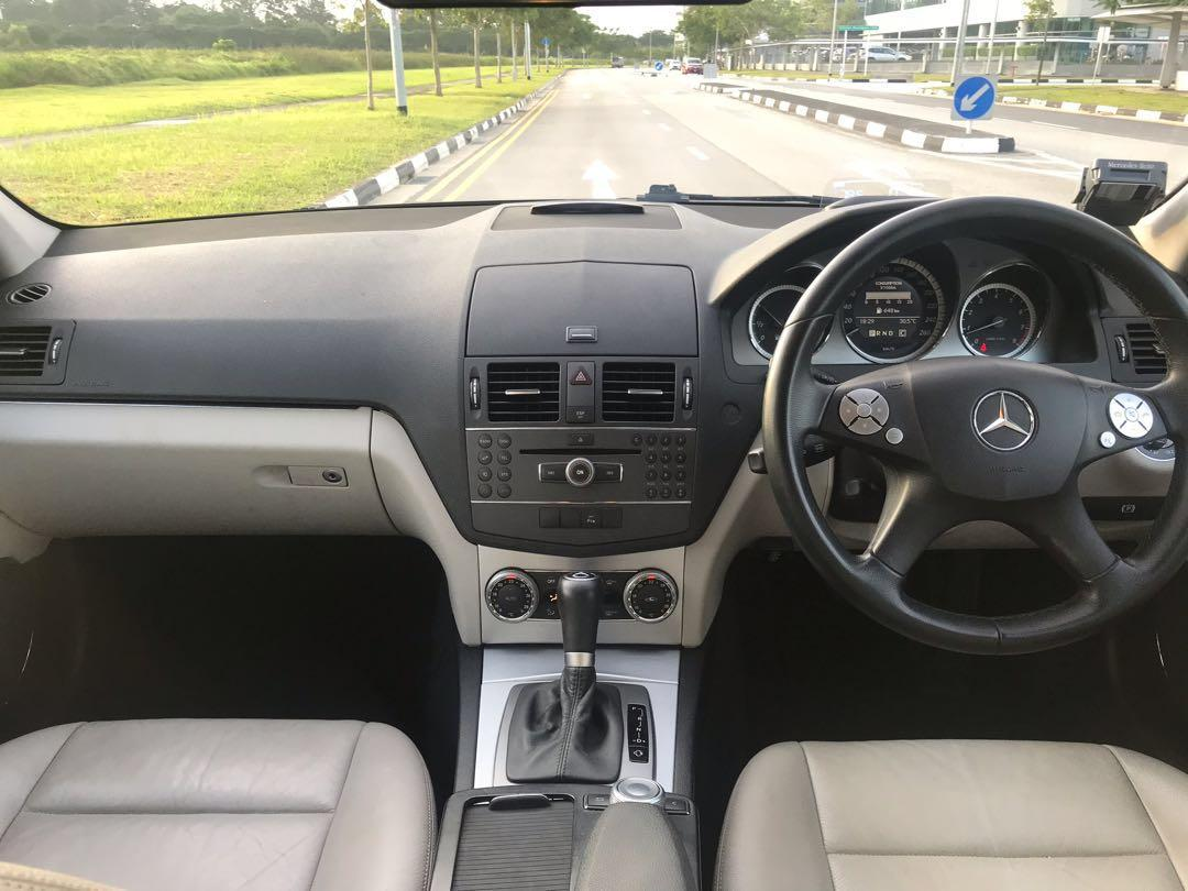 Mercedes C200 for Daily/Wedding/CNY Rental