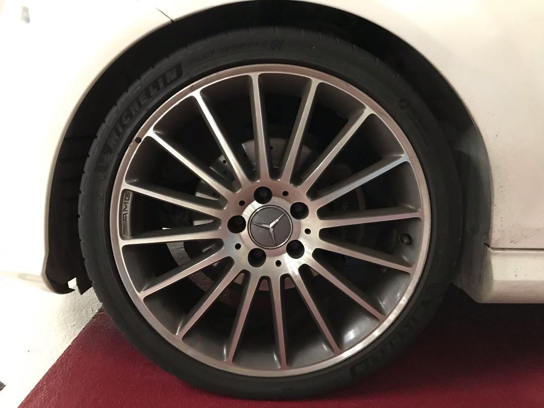 Mercedes-Benz C200 AMG Estate 2012 Auto