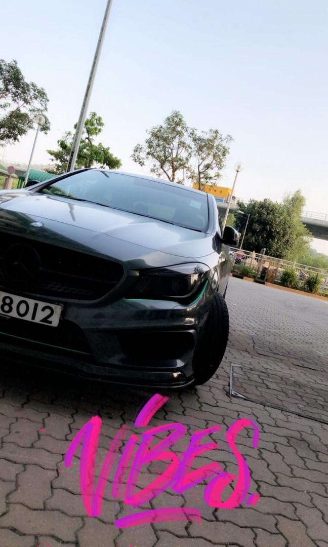 Mercedes-Benz CLA250 Coupe Sport (A)