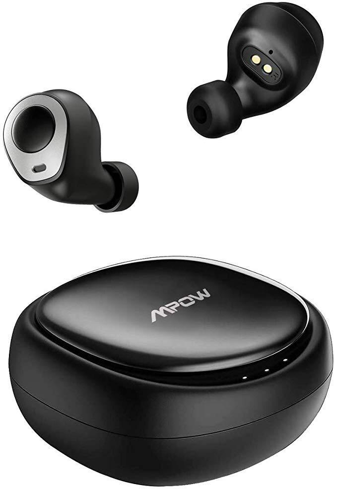 Mpow True Wireless Earbuds Ipx5 Waterproof 20hrs Bluetooth Earbuds Wireless Headphones With Charging Case And Mic V5 0 Bluetooth Earpiece For Iphone Andriod Phone Ipad Laptop Black Electronics Others On Carousell