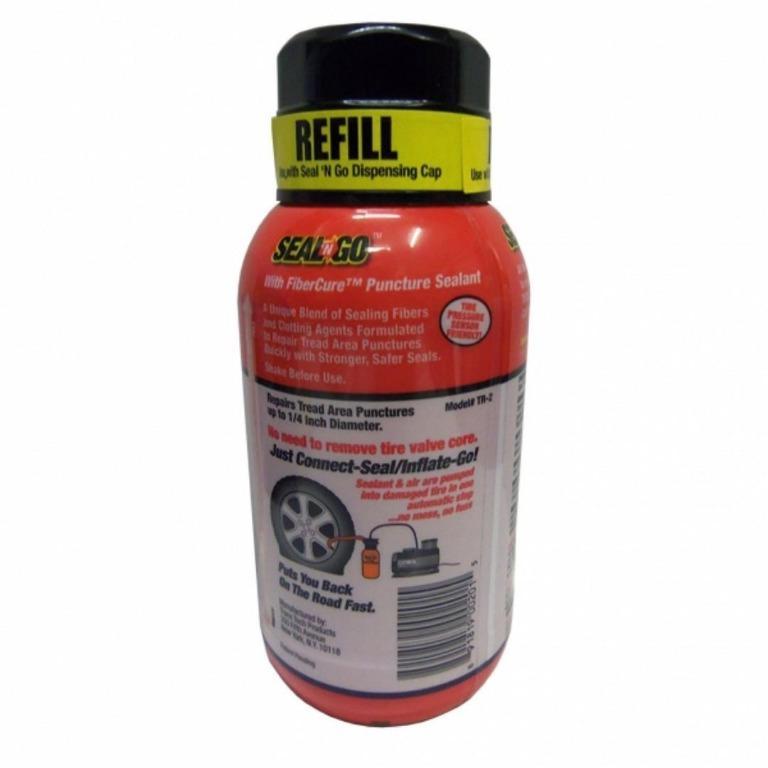 One Step Flat Tire Repair (Flat Tire Emergency Sealant Kit)
