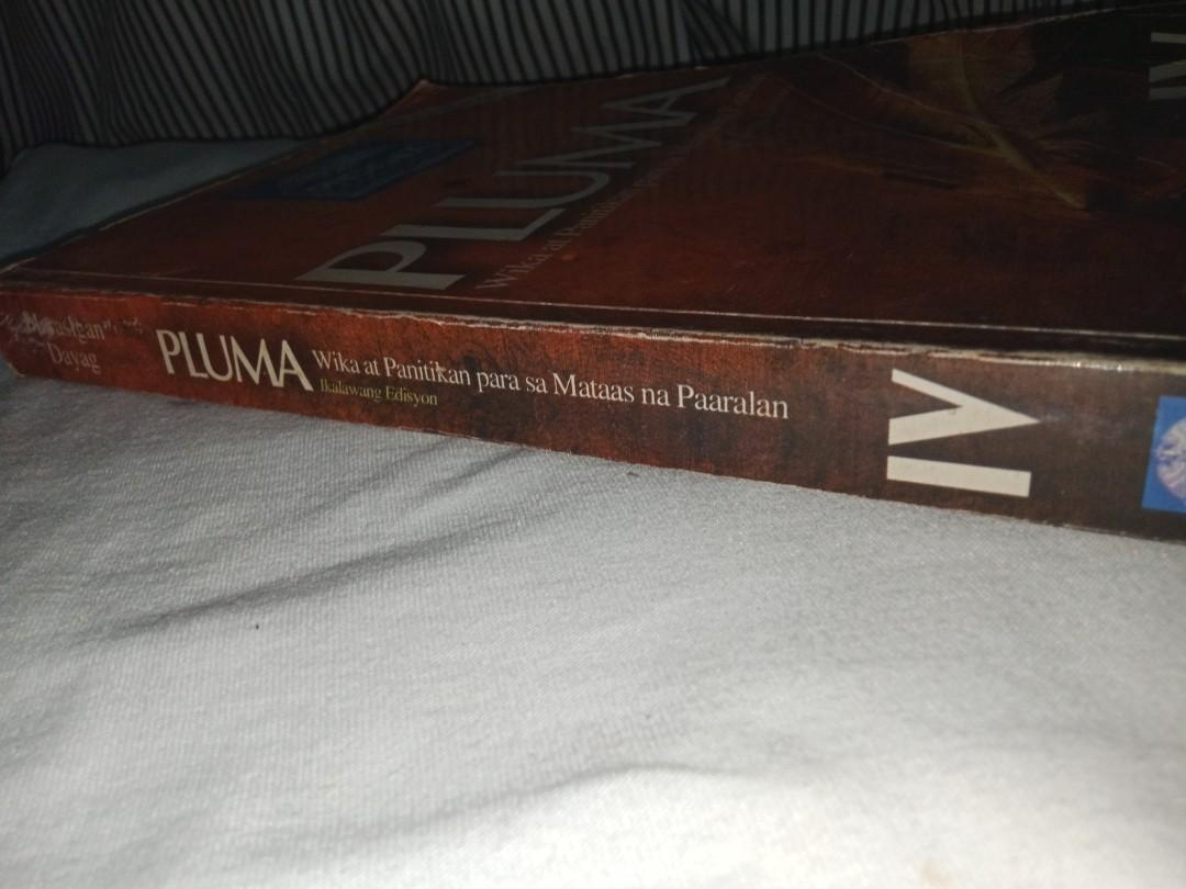 Pluma- Wika at Panitikan para sa Mataas na Paaralan (Ikalawang Edisyon)