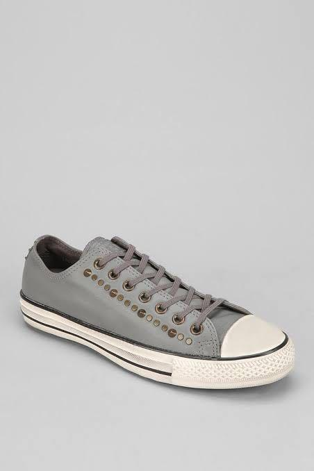 Rare Unique Converse Charcoal Grey Studded 140014C CT Unisex Mens 3 Womens 5.