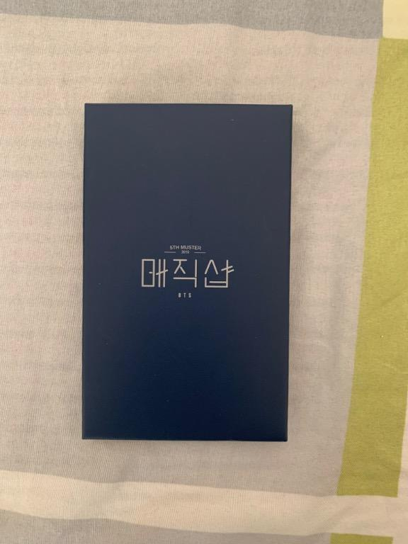 [ReadyStocks] Jungkook 5th Muster Guestbook card SET OFFICIAL MD