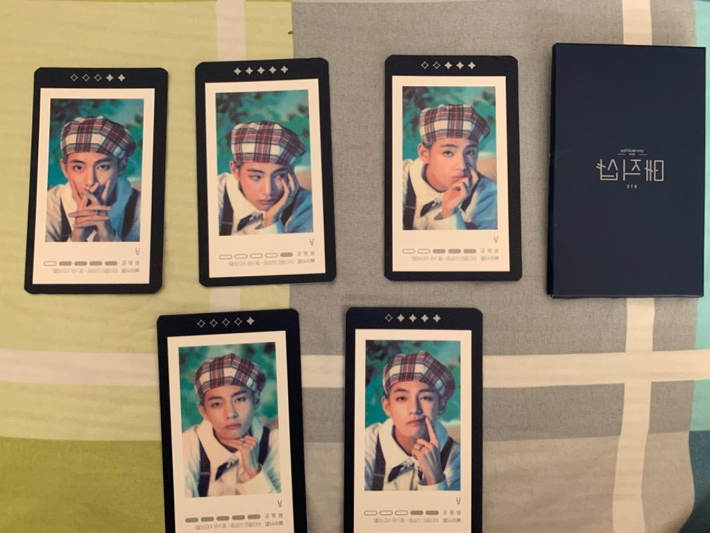 [ReadyStocks] V 5th Muster Guestbook Card Set - OFFICIAL MD