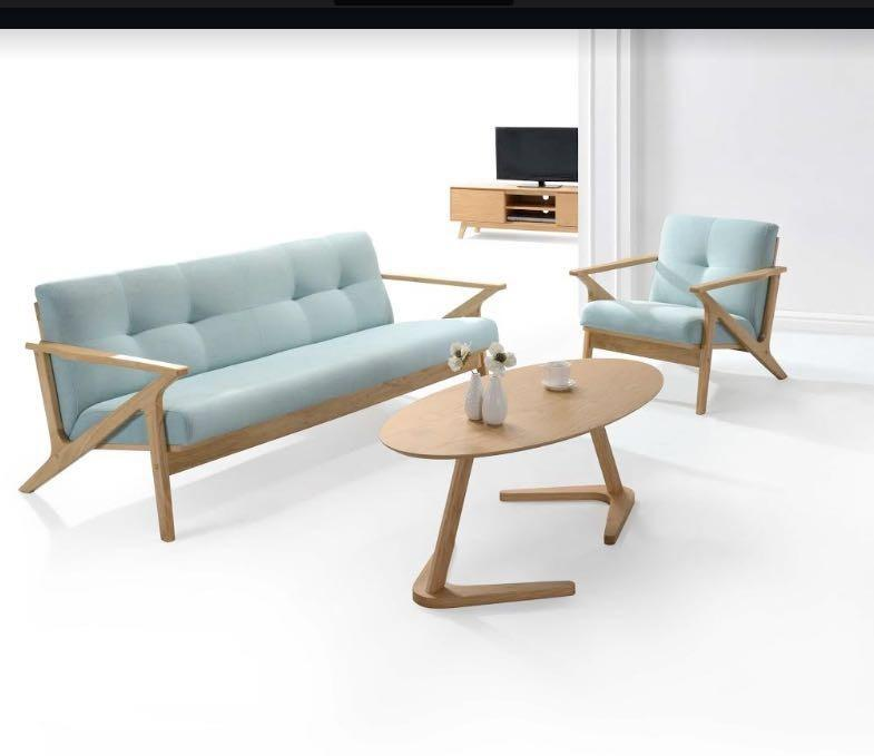 SALE!!! BISMARK 3 SEATER LOUNGE WITH SOLID WOODEN FRAME JUST $899