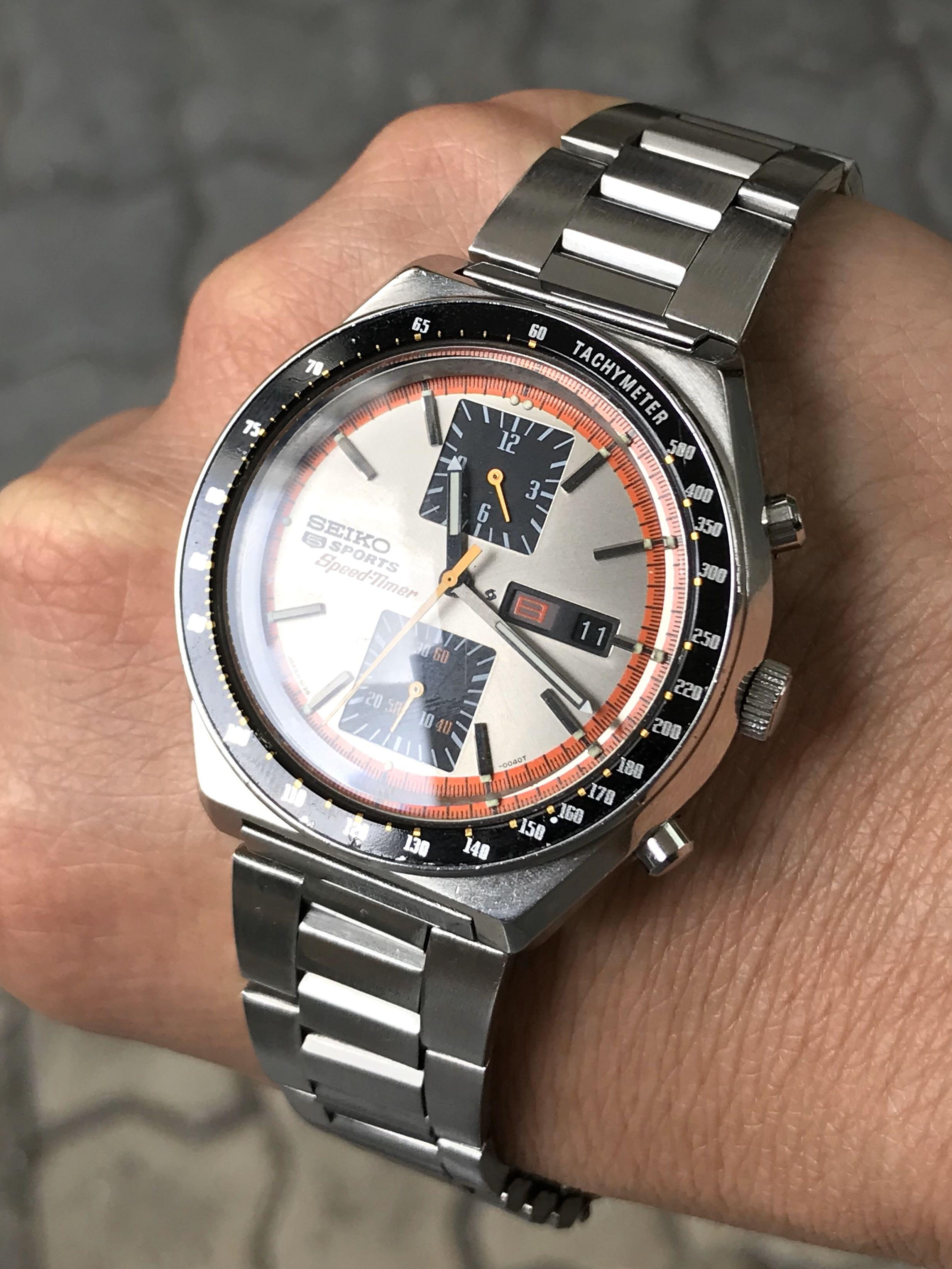 Seiko 6138-0030 Kakume Speedtimer Sports 5