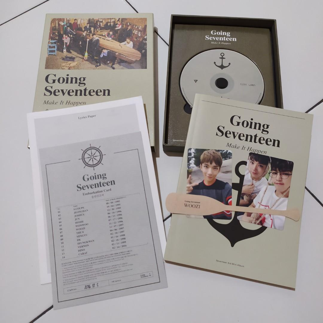 Seventeen - Going Seventeen (3rd Mini Album) + Poster