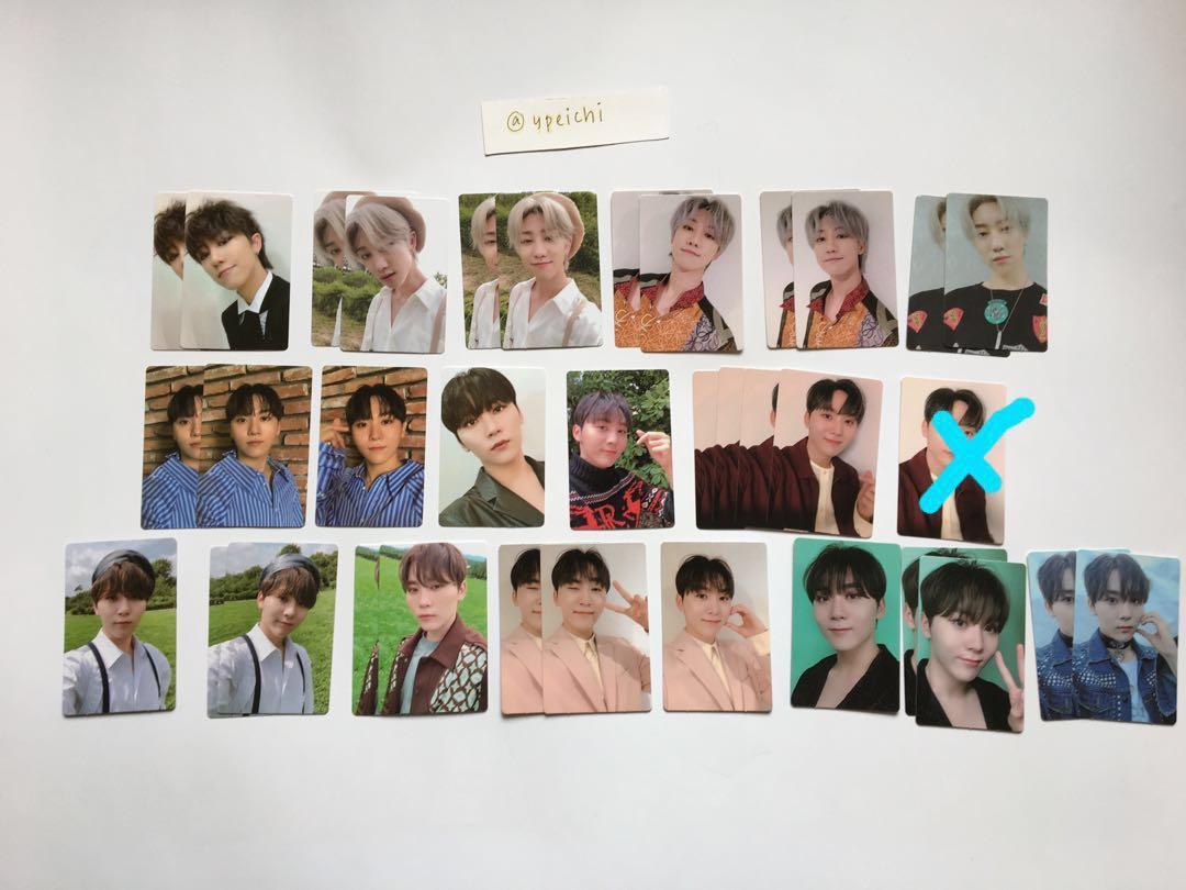 Seventeen An Ode Official Photocards (Maknae Line)