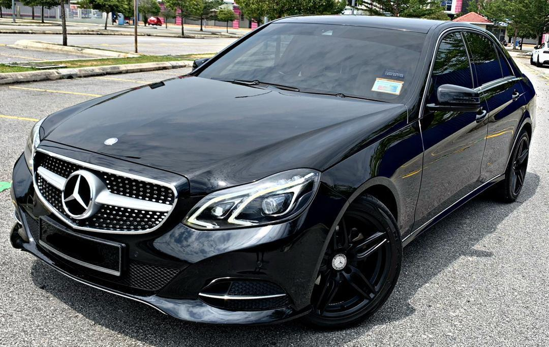 SEWA BELI>>MERCEDES BENZ E200 2.0(A) NEW FACELIFT 2013/2014