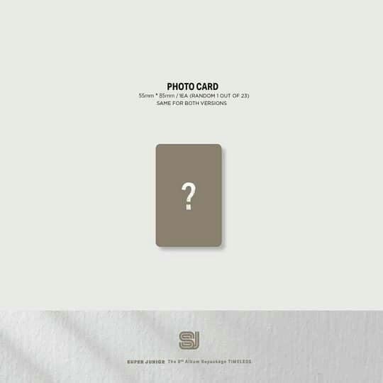 SUPER JUNIOR - THE 9TH ALBUM REPACKAGE 'TIMELESS' (PRE-ORDER)