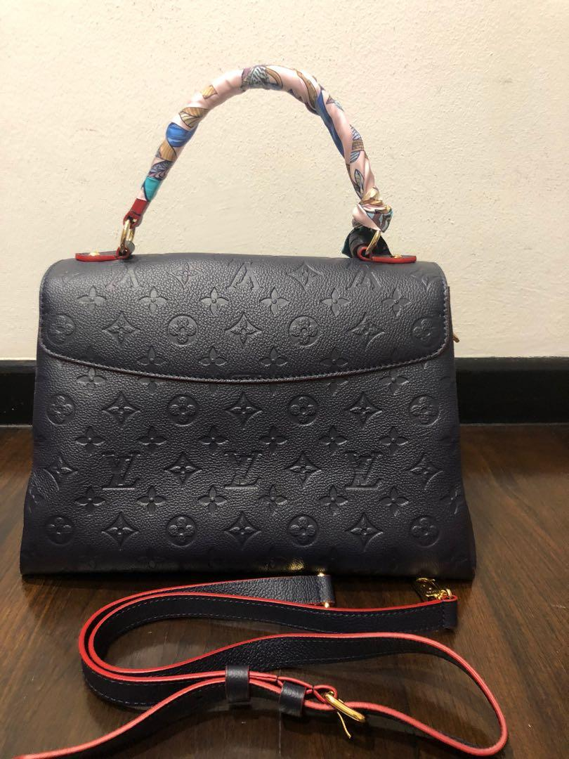 Used once Louis Vuitton Georges bag in empriente leather and mm size (receipt dated Dec 2019) for sale!