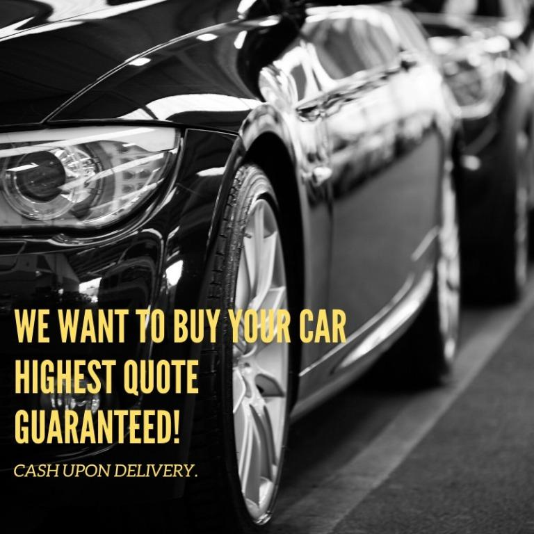 WANT TO SELL YOUR CAR HASSLE-FREE WITH THE HIGHEST PRICE GUARANTEE?
