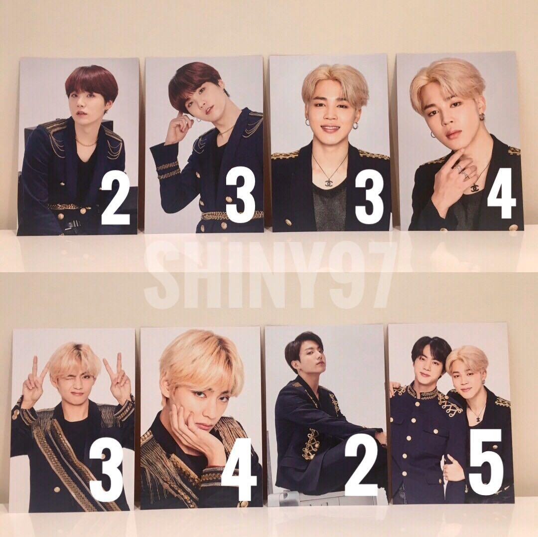 [WTS] BTS Speak Yourself Tour The Final photocard & photoset