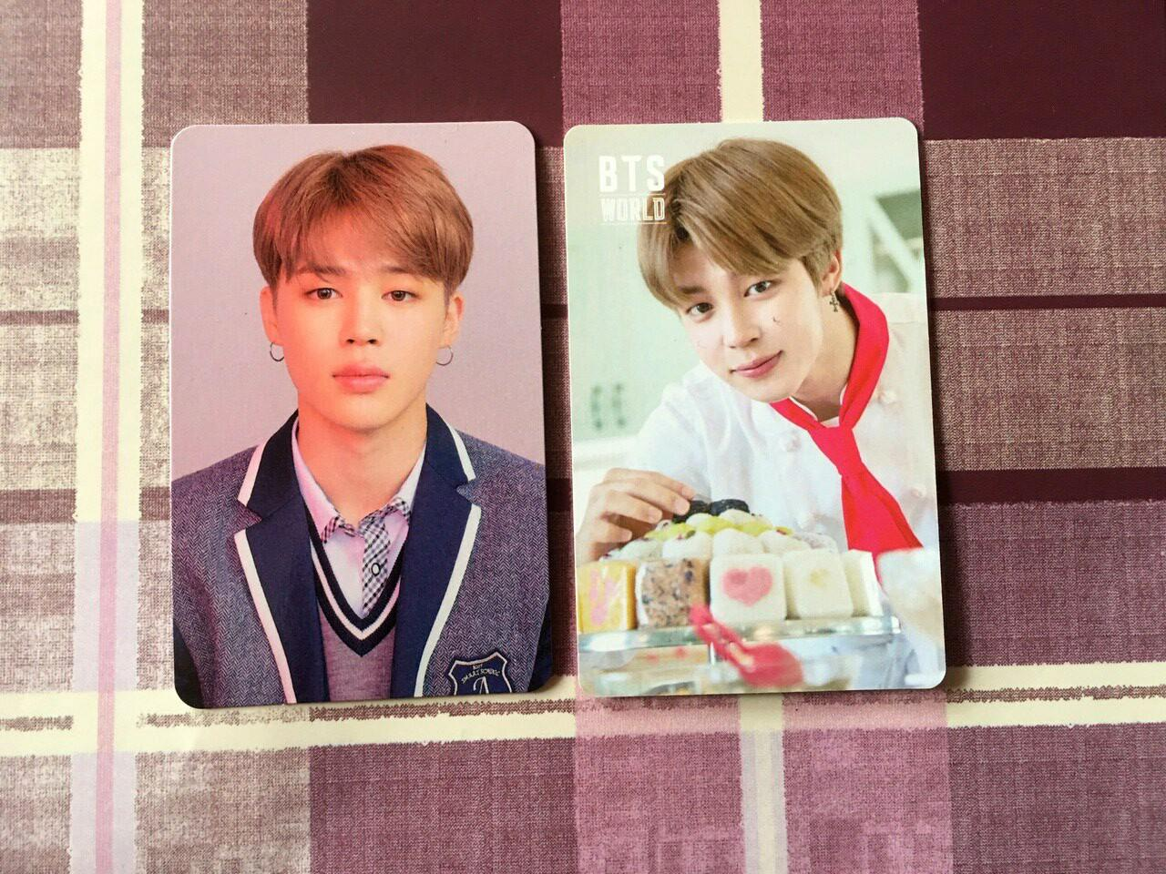 [WTS]BTS JIMIN BTS World & Love Yourself Answer Photocard