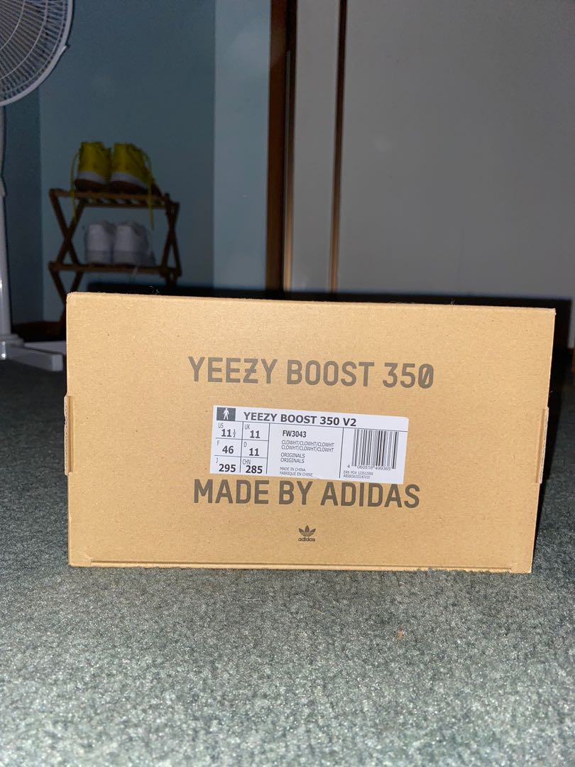 Yeezy Boost 350 V2 Cloud White Size Men's 11.5 Used 6/10 condition
