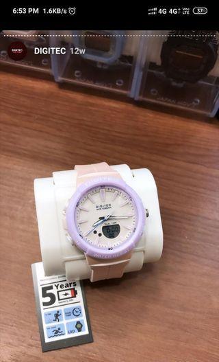 Jam Tangan Digitec Wanita Pink