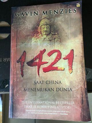 Buku novel 1421 Saat china menemukan dunia