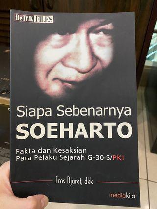 Buku Novel Soeharto