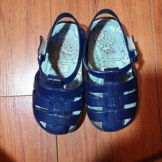 Jelly shoes / sendal jelly biru