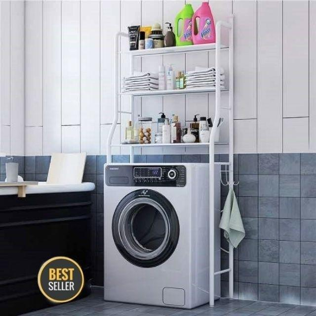 Bathroom 3 Tier Toilet Bathroom Kitchen Organizer Shelves Rack Rak Bilik Air Home Furniture Others On Carousell