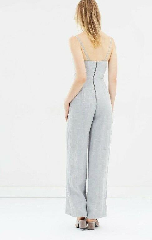 Beautiful Mercutio Bustier gray jumpsuit size XS / AUS6