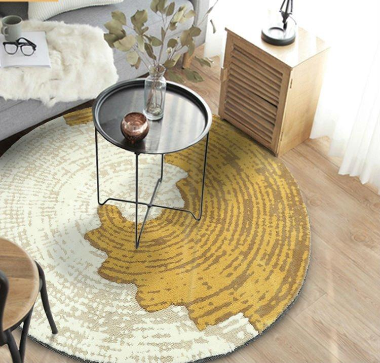 Round Area Rug Living Bedroom Decor