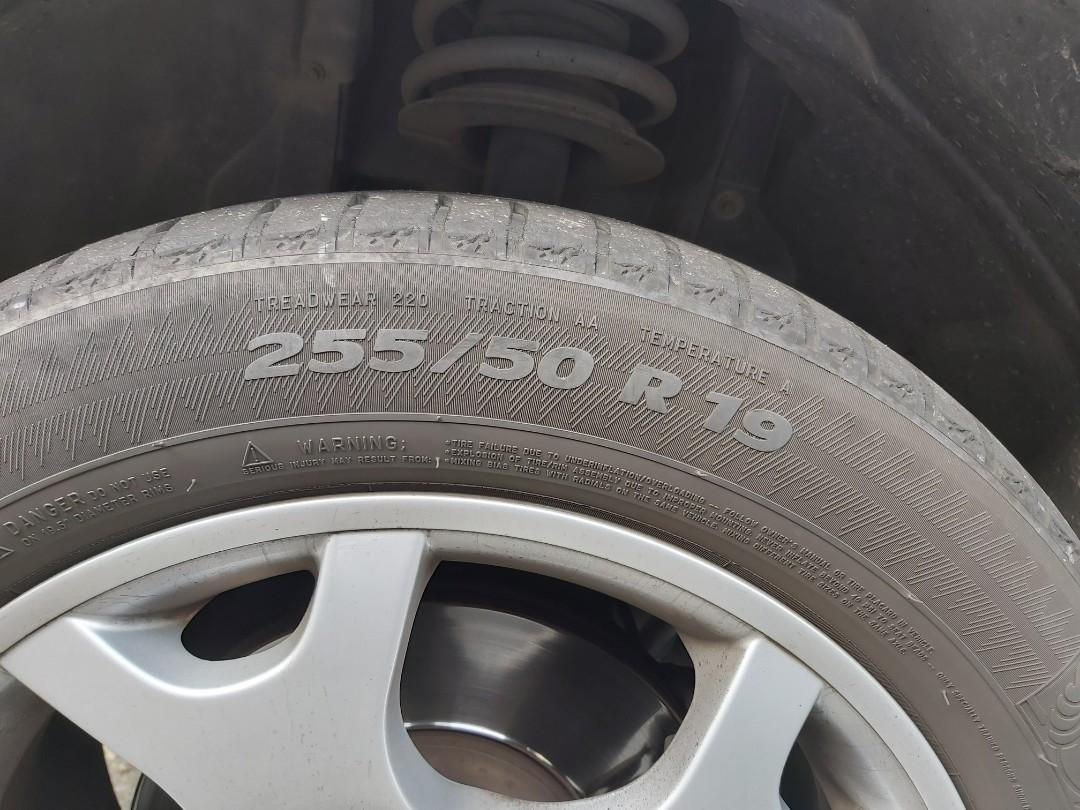 BMW X5 原廠鋁圈 買圈送胎