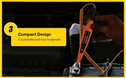 Car Electrical Circuit Test Pen Digital Display Voltage